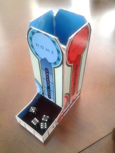 Dice Tower made from Sorry! Game Board | BoardGameGeek