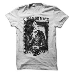Awesome Tee Cinco de Mayo - Viva la Raza T-Shirts