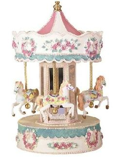 Carousel my obsession Carousel Musical, Carousel Cake, Carousel Horses, 3d Templates, Baby Pink Aesthetic, Merry Go Round, Pretty Box, Trinket Boxes, Envelopes