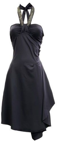 Dress with Detailed Chain by Guess. Add a bolero of some sort and I would be good to go.
