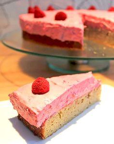 Low Carb Rezept | Low Carb Torte mit Himbeeren