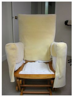 Reshape a glider chair