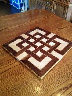 celtic knot cutting board