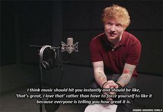 [gif] so much truth. Dont forget to watch the VMA's tonight Lego House is nominated! [gif] so much truth. Dont forget to watch the VMA's tonight Lego House is nominated! Give Me Love, I Love Him, Edward Christopher Sheeran, Ed Sheeran Quotes, Music Quotes, Music Is Life, Decir No, Lyrics, Told You So