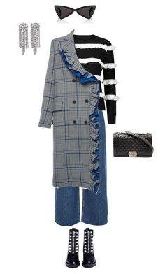 """""""e"""" by vnae18 on Polyvore featuring River Island, YAL New York, MSGM, 3.1 Phillip Lim, Chanel and Yves Saint Laurent"""