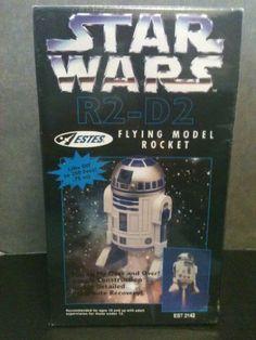 Black Friday Deal Star Wars R2-D2 Estes Flying Model Rocket Kit from Star Wars Cyber Monday