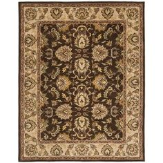 Shop for Safavieh Handmade Heritage Timeless Traditional Brown/ Ivory Wool Rug (9'6 x 13'6). Get free shipping at Overstock.com - Your Online Home Decor Outlet Store! Get 5% in rewards with Club O! - 13607383