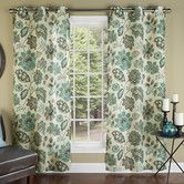Found it at Wayfair - Tessa Poly Linen Textured Cloth Grommet Curtain Panel, new dining room curtains