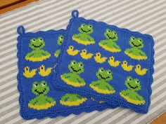Knitting Charts, Baby Knitting, Pot Holders, Home Accessories, Coasters, Crochet Patterns, Kids Rugs, Blanket, Crafts