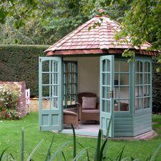 Pergola Kits Home Depot Code: 6944177067 Pergola Canopy, Pergola Patio, Pergola Plans, Backyard Landscaping, Pergola Kits, Pergola Ideas, Small Garden Summer House Ideas, Corner Summer House, Bbq Shed