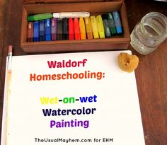 Head on an artistic adventure this year in your homeschool learning the Waldorf technique of wet-on-wet watercolor painting!