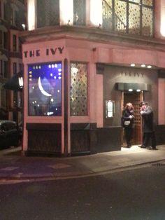 The Ivy Club, London - pre-pub launch!