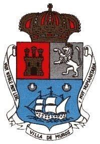 Escudo actual de Muros.