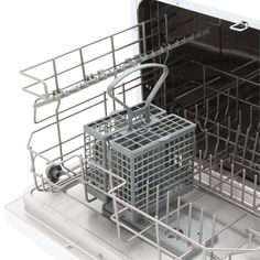 Magic Chef Countertop Portable Dishwasher in White with 6 Place Settings Capacity-MCSCD6W3 - The Home Depot
