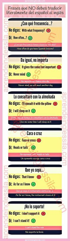 Frases en ingles que no son literales English Course, English Time, Spanish English, English Study, English Class, English Lessons, Spanish Lessons, Study Spanish, Learning English