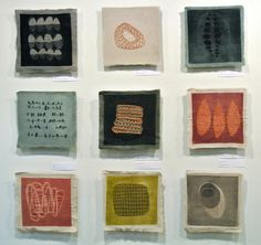 art from group show eleanor anderson Collage Kunst, Textiles Sketchbook, Textile Sculpture, Stitch Book, Visual Texture, Art Graphique, Small Art, Mark Making, Textile Artists