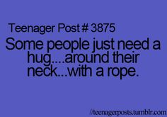 I know a lot of people that need this kind of hug!