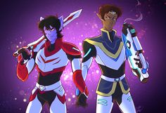Galaxy Husbands (Klance) by KT-ExReplica.deviantart.com on @DeviantArt
