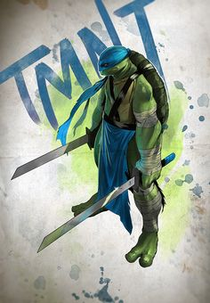 TMNT - Leonardo by Coliandre ★ Find more at http://www.pinterest.com/competing/