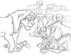 I suppose you can call that concept art for MP. Please don't let her die Lion King 4, Lion King Series, Lion King Fan Art, Disney Lion King, Tarzan Disney, Disney And Dreamworks, Animal Sketches, Animal Drawings, Fanart