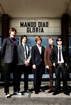 Mando Diao, love that song (especially when they're singing it live)