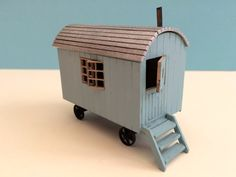 Shepherd Hut 1/12th scale Kit Dolls house one inch scale Also available in 1/12th, 1/24th and 1/48th