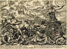 Maarten van Heemskerck, Death's Chariot (c. 1551)
