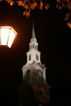 A quiet night, Samford University, Birmingham, Alabama