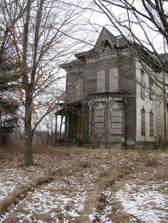 abandoned home ...
