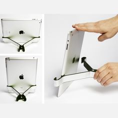 Twohands that will grab your iPad and hold it at an angle for you. Colorado Tourism, Gifts For Techies, Nerds Candy, Ipad, Smartphone, Geek Out, Tech Gifts, Cool Gadgets, Amazing Gadgets
