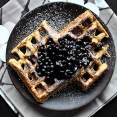 Soaked Sweet Potato Waffles. Quick and easy waffle recipe to use up leftover sweet potatoes. Whole grain, gluten-free, sugar-free.