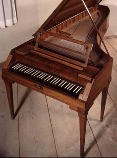 Mozart's fortepiano, from the Mozarteum, Salzburg Music Like, My Music, Mozart Effect, Piano For Sale, Amadeus Mozart, Classically Trained, Piano Keys, Music Humor, Classical Music