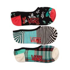 Shop for Womens Vans Floral Plaid Liners 3 Pack in Multi at Journeys Shoes. Shop today for the hottest brands in mens shoes and womens shoes at Journeys.com.Show your stripes, florals, and plaids with the new Floral Plaid Liners from Vans! These liners feature a no-show cotton design in array of colors and patterns, great for mixing and matching. 3 pack. Only available at Journeys and SHI by Journeys!
