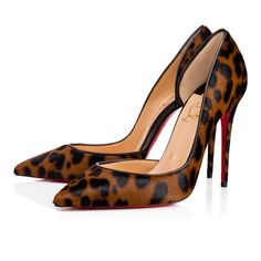 CHRISTIAN LOUBOUTIN Iriza 100 Brown Pony - Women Shoes - Christian Louboutin. #christianlouboutin #shoes #