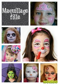 Des idées de maquillage d'halloween pour tous les goûts! Halloween Make Up, Halloween Party, Halloween Costumes, Halloween Face Makeup, Mardi Gras, Diy Maquillage, Fancy Dress For Kids, Face Art, How To Make