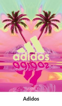 Sadidas Adidos poster Tropical sports