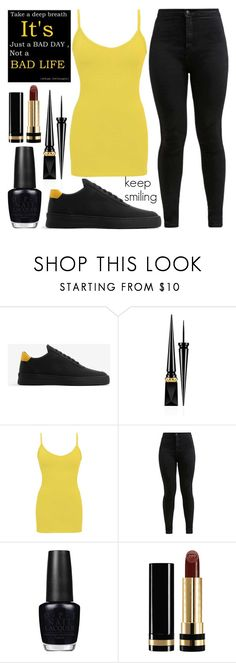 """keep smiling"" by j-n-a ❤ liked on Polyvore featuring Filling Pieces, Christian Louboutin, BKE core, OPI and Gucci"