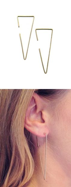 Love!! Love!!!Triangle earrings