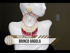 Brinco Argola - passo a passo - YouTube Seed Beads, Jewelry Ideas, Youtube, Jewlery, Resin, Make It Yourself, Patterns, Film, Instagram