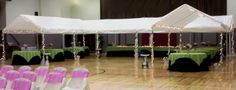 wedding reception in gyms decorated - Google Search