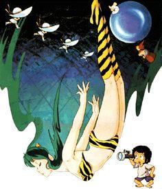 """lum urusei yatsura movie """"beautiful dreamer"""" 1984"""