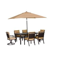 Hopefully to replace our patio set - Martha Stewart again at Home Depot. Outdoor Dining Set, Outdoor Living, Outdoor Decor, Base Cabinets, Kitchen Cabinets, Ornamental Mouldings, Kitchen Cabinet Organization, Cabinet Space, Outdoor Stuff