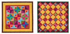 Strip quilts from Quilts on the Double