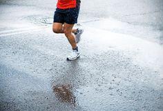 Buy Marathon runner in rain on city street by blas on PhotoDune. Single runner running in shower in city marathon Running In The Rain, Keep Running, Running Shoes, Winter Running, New Sneakers, Canvas Sneakers, Cross Country, Jogging, Stop The Rain