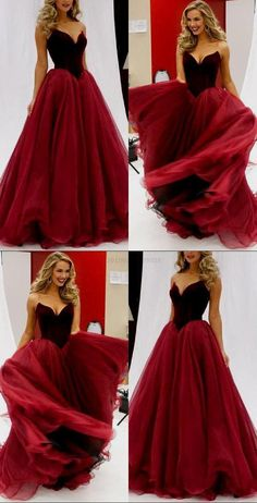 bea7569c2d4 Discount Fetching Burgundy Prom Dress