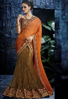 Gold Net  Designer Saree..@ fashionsbyindia.com #designs #indian #fashion #womens #style #cloths #clothes #stylish #casual #fashionsbyindia #punjabi #suits #wedding #saree #chic #elegance #beauty #outfits #fantasy #embroidered #dress #PakistaniFashion #Fashion #Longsuit #FloralEmbroidery #Fashionista #Fashion2015 #IndianWear #WeddingWear #Bridesmaid #BridalWear #PartyWear #Occasion #OnlineShopping
