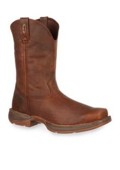DURANGO Trail Brown Rebel Pull-On Western Boot