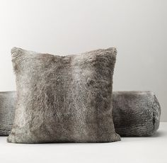 Luxe Faux Fur Decorative Pillow Cover & Insert | Decorative Pillows | Restoration Hardware Baby & Child