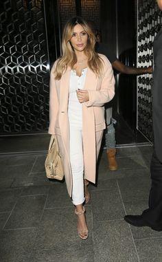 Kim K. post baby weight looking wonderful! #kimkardashian #kimk #kimye #northwest #baby #fashionista