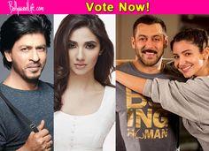 Shah Rukh Khan – Mahira Khan or Salman Khan – Anushka Sharma: which of these fresh jodis are you most EXCITED about? #ShahRukhKhan  #salmankhan